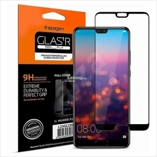 Huawei P20 - Spigen 7D Full Coverage Case Friendly Tempered Glass