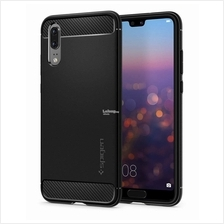 HUAWEI P20 - Spigen Rugged Armor Case Carbon Fiber Design