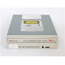 Nakamichi 5 Disc 16X CD-ROM Mini Changer MJ-5.16si 50-pin SCSI