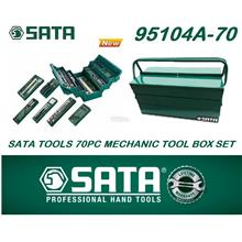 Sata Tools 70pc Mechanic 5 Tray Cantilever Tool Chest Set