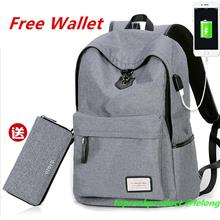 Laptop Notebook Bags Tablet iPad Galaxy Backpack Travel Bag + Wallet