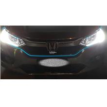 Car Ambient Blue LED fiber light - starter package