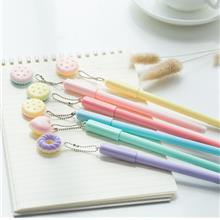 Biscuit Donut Magic Eraseable Gel Ink Pen (Pen Boleh Padam)