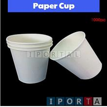 Paper cup 7oz (1000pc) for water dispenser