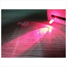 5pcs Super Bright 5mm LED Red Color Clear LED