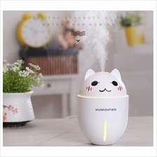 Cute 3-in-1 Multi Function Humidifier Mini Fan Night Light