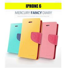 iPhone 6 Mercury Fancy Diary Leather Case