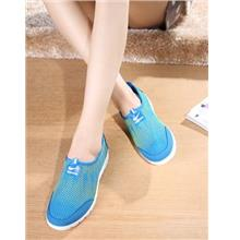 Cool Thunder Comfortable Home Pump Shoes (Blue)
