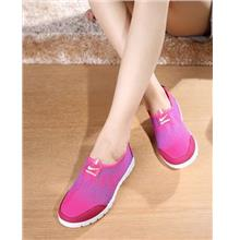 Cool Thunder Comfortable Home Pump Shoes (Rose Red)