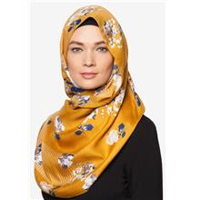 SHAWL STANDARD TURKEY GOLDEN FLORAL TUDUNG HIJAB MUSLIMAH FASHION