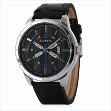 CURREN 8211 CASUAL MEN QUARTZ WATCH WITH DATE DISPLAY (BLUE)