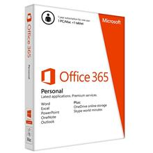MICROSOFT OFFICE 365 PERSONAL ENGLISH (1 YEAR) RETAIL PACK