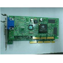 Nvidia or ATI Chipset 16MB AGP Graphic Card for SFF Casing 021113