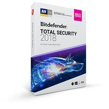 BITDEFENDER TOTAL SECURITY MULTI DEVICE 2018 RETAIL (1 YEAR 5 USER)