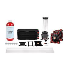 THERMALTAKE PACIFIC RL240 D5 HARD TUBE COOLING KIT (CL-W128-CA12RE-A)
