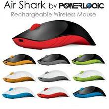 ALCATROZ MOUSE WIRELESS AIR SHARK AMBIDEXTROUS 2.4G MANY COLOR