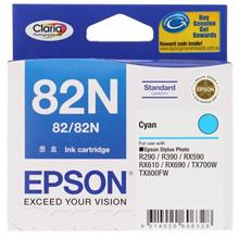 GENUINE EPSON 82N CYAN INK CARTRIDGE **NEW**SEALED BOX
