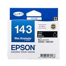 GENUINE EPSON 143 BLACK INK CARTRIDGE **NEW**SEALED BOX