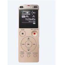 SONY 4GB DIGITAL VOICE RECORDER WITH CARD SLOT (ICD-UX560F) GOLD