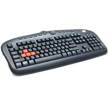 A4 TECH WIRED USB GAMING KEYBOARD (KB-28G) BLK