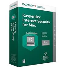 KASPERSKY INTERNET SECURITY 2018 FOR MAC (1 YEAR 1 USER CD KEY ONLY)