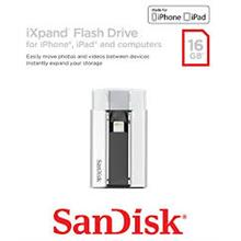 SANDISK 16GBi XPAND USB2.0 TO LIGHTNING OTG FLASH DRIVE (SDIX-016G-P57