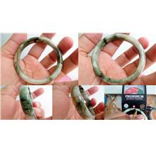 BURMESE  NEPHRITE JADE BANGLE  2838