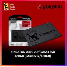 KINGSTON SSD A400 SATA3 2.5'- 120GB (7mm HEIGHT) SA400S37/120G