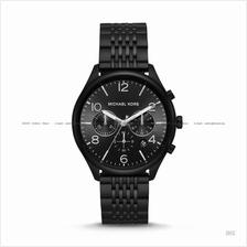 MICHAEL KORS MK8640 Men's Merrick Chronograph SS Bracelet Black