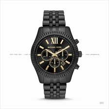 MICHAEL KORS MK8603 Men's Lexington Chronograph SS Bracelet Black