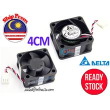 Delta EFB0412HHD 12V 0.15A 4CM 40mm 40*40*20mm 3Pin Silent Cooling fan Dual Be