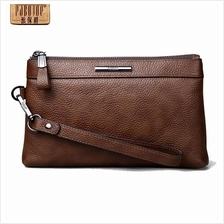 [Free Gift!] Pabojoe Premium Cowhide Leather Royal Handy Pouch Bag 015