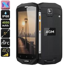 AGM A8 Android 7.0 4G Rugged Phone (WP-A8).