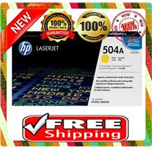 NEW HP 504A / CE252A YELLOW Toner 3530 3520 3525 (FREE SHIPPING)