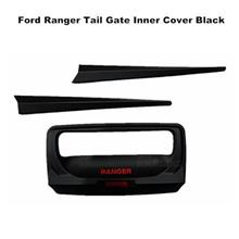 Ford Ranger Tail Gate Inner Cover Matte Black With Red Wording
