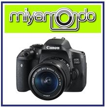 NEW Canon EOS 750D 18-55mm IS STM Lens + 32GB + Bag