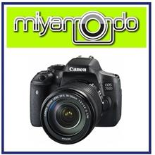 NEW Canon EOS 750D 18-135mm IS STM Lens + 8GB + Bag