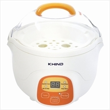 Khind 0.7L Porridge Soup Cooker White - BPS07)
