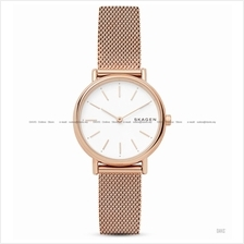 SKAGEN SKW2694 Women Signatur Slim Interchange Mesh Bracelet Rose Gold