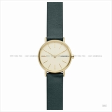 SKAGEN SKW2727 Women's Signatur Slim Interchangeable Leather Green