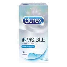 DUREX Invisible Extra Thin Extra Sensitive 10s)