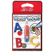 Water Wow Kids Painting And Coloring Book Melissa Doug Alphabet