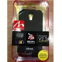 MyMosh QuickSand Sillicon For Samsung S4 i9500 BLACK.