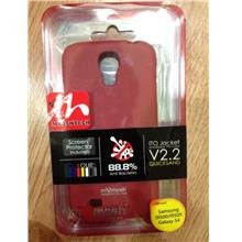 MyMosh QuickSand Sillicon For Samsung S4 i9500 DEEP RED.