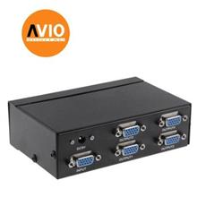 VGA-2504A 4-port VGA Splitter/Distributor 250Mhz