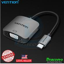 Vention USB Type C To VGA Female Adapter MacBook Pro Chromebook