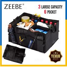Heavy Duty Collapsible Car Boot Organizer Foldable Tidy Storage Bag