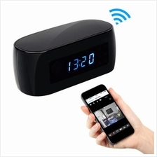 ★ Wide Angle 1080P Night Vision Wifi Clock Camera (WCH-28)