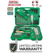 Toptul Professional 150pcs 1/4' & 1/2' Dr. Tool Kit (METRIC)