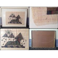 **incendeo** - Ancient Egyptian Art on Papyrus Paper #2